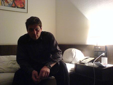 Selbstportrait in Neuss