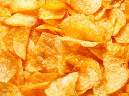 Chips in der Sonne